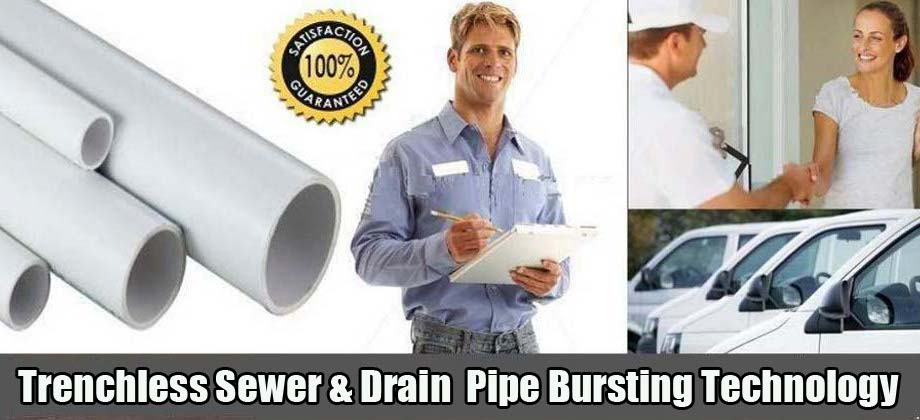 Trenchless Sewer Services Sewer Pipe Bursting
